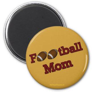 Football Mom Cute Magnet