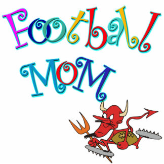 Football Mom Cutout