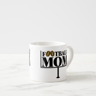 Football Mom Goal Post Espresso Cup
