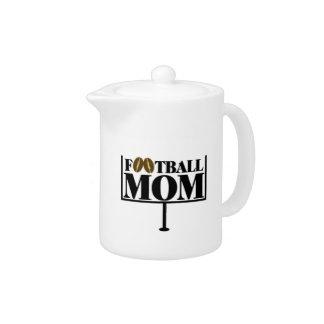 Football Mom Goal Post Teapot