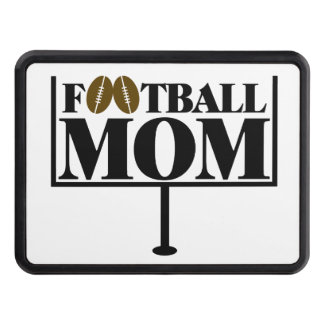 Football Mom Goal Post Trailer Hitch Cover