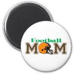 Football Mom (Helmet) Fridge Magnets