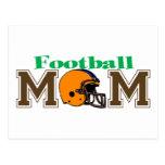 Football Mom (Helmet) Post Card