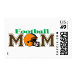 Football Mom (Helmet) Postage Stamp