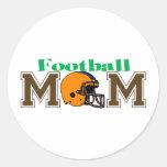 Football Mom (Helmet) Stickers