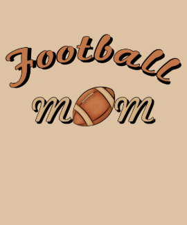 Football Mom Illustrative Women's Top T Shirts