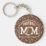 Football Mom Key Chains