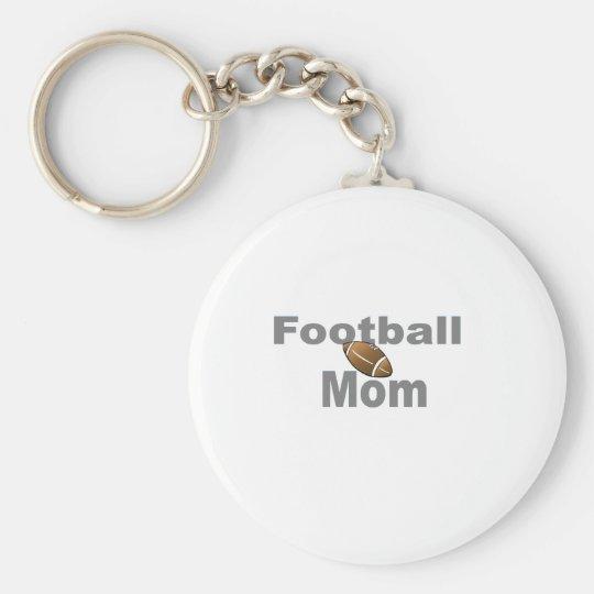 Football Mom Keychain