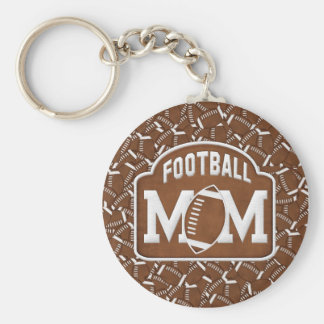 Football Mom Key Chains