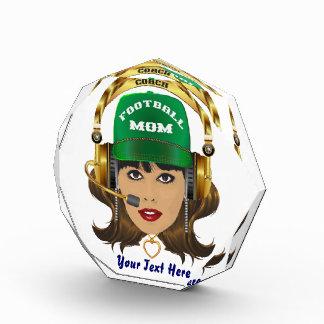 Football MOM Mardi Gras King view notes Please Award