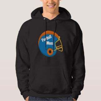 Football Mom Orange & Blue Shirt