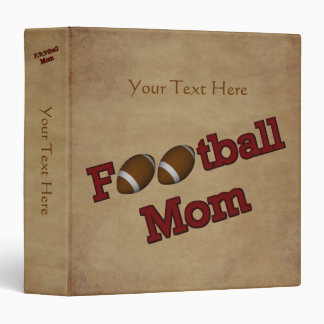 Football Mom Personalized Binder