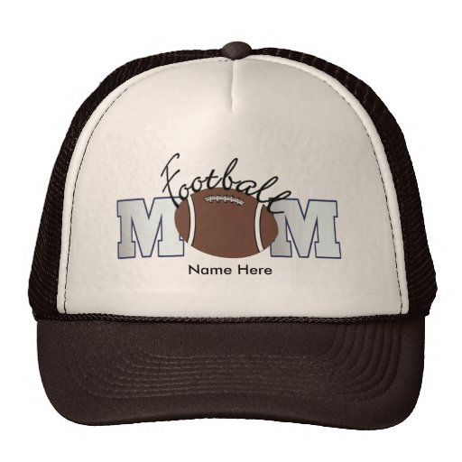 Football Mom (personalized) Trucker Hats
