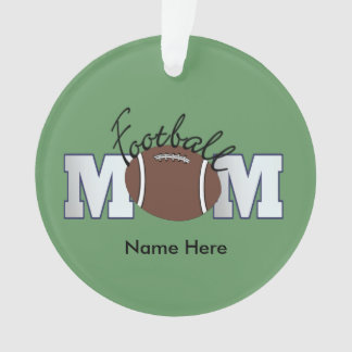 Football Mom (personalized) Ornament