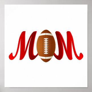 Football Mom Poster