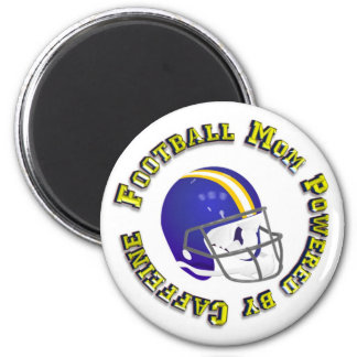 Football Mom Powered by Caffine Magnet