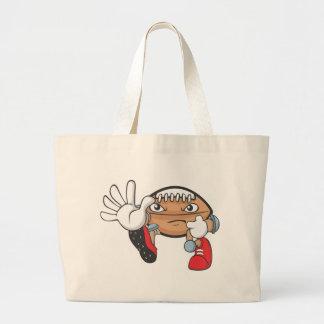 Football Mom Shirt | Football Mom T Shirts Large Tote Bag