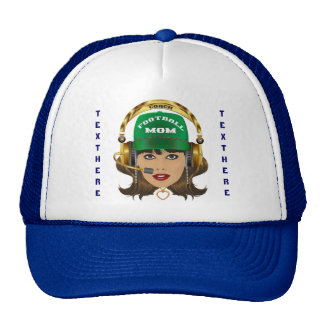 Football MOM Special View Notes Please Trucker Hat