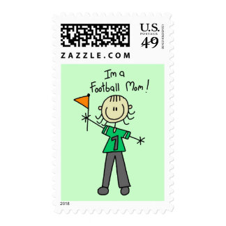 Football Mom Tshirts and Gifts Stamps
