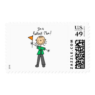 Football Mom Tshirts and Gifts Stamp