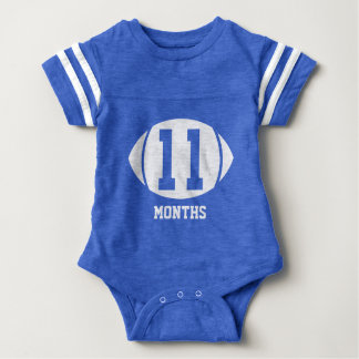 Football Month Eleven Baby Bodysuit