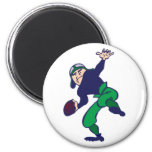 football more player refrigerator magnets