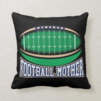 Football Mother Throw Pillow