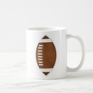 Football Classic White Coffee Mug