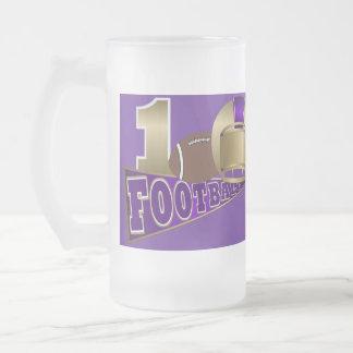 FOOTBALL Mug Purple and Gold - SRF
