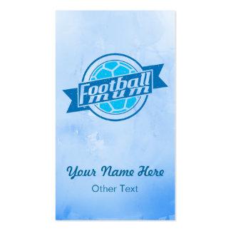 Football Mum Personalised Business Cards
