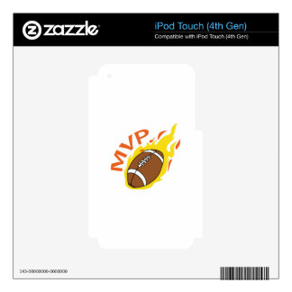 FOOTBALL MVP SKIN FOR iPod TOUCH 4G