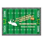 Football MVP & Stork Baby Shower Invitation