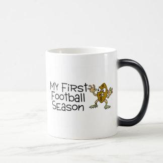 Football My First Football Season Magic Mug