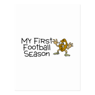 Football My First Football Season Postcard