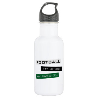 Football My Sport My Passion Stainless Steel Water Bottle