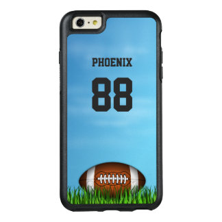 Football Name and Number OtterBox iPhone 6 Plus OtterBox iPhone 6/6s Plus Case