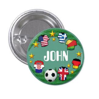 Football  ~  Name Button