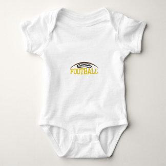 Football Name Drop Baby Bodysuit