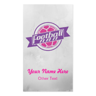 Football Nan Grandma Custom Business Cards