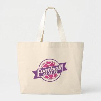 Football Nan (Grandmother) Large Tote Bag
