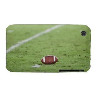 Football near yardage line. iPhone 3 Case-Mate cases