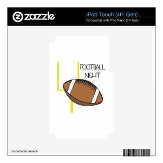 Football Night iPod Touch 4G Decal