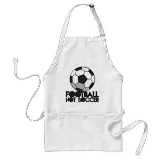 FOOTBALL not soccer! ball shirt Adult Apron