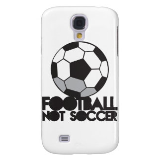 FOOTBALL not soccer! ball shirt Galaxy S4 Covers