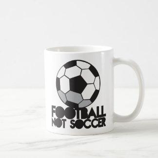 FOOTBALL not soccer! ball shirt Coffee Mug