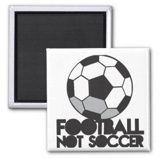 FOOTBALL not soccer! ball shirt Magnet