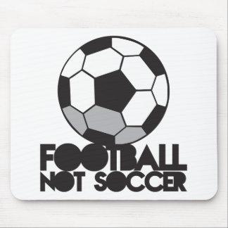 FOOTBALL not soccer! ball shirt Mouse Pad