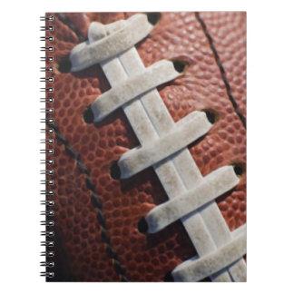 Football Spiral Note Book