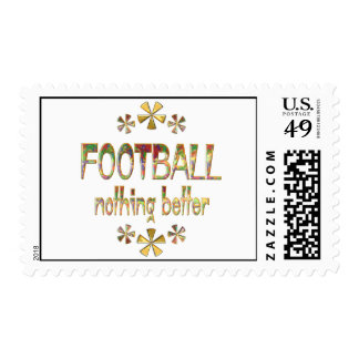 FOOTBALL Nothing Better Postage