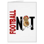Football Nut 1 Greeting Card